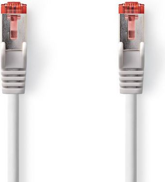 Nedis Cat 6 S/FTP Network Cable | RJ45 Male - RJ45 Male | 30 m | Grey, CCGP85221GY300