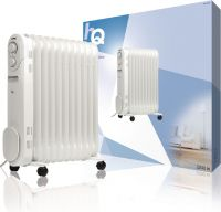 HQ Portable Oil Radiator 2200 W White, HQ-OR11