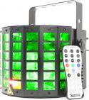 Light Effects Hybrid, Radical LED derby with laser