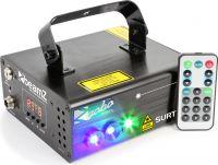 Surtur II Double Laser RG Gobo DMX IRC 3W Blue LED