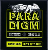 Ernie Ball EB-3371 PARADIGM REG.SL. 3PACK, Paradigm Regular Slinky