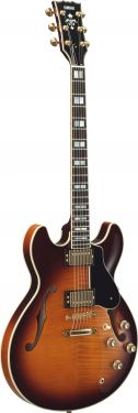 Yamaha SA2200 Elektrisk Guitar(Brown Sunburst /inkl case)