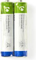 Nedis Zinc-Carbon Battery AAA | 1.5 V | 2 pieces, BAZCR032SP