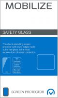 Mobilize Smartphone Safety Glass Screen Protector Samsung Galaxy J2 Pro 2018 Clear,