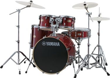 Yamaha SBP2F5CR STAGE CUSTOM BIRCH (CRANBERRY RED + HW68)