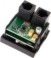 Audac Line signal input RCA, 45x45 standard, hvid