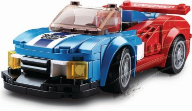 Sluban Building Blocks Carclub Series Butterfly, M38-B0633E