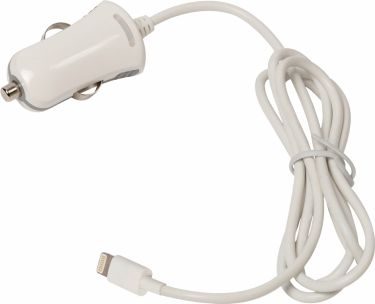 Valueline Car Charger 1-Output 2.4 A Apple Lightning White, VLMB39891W10