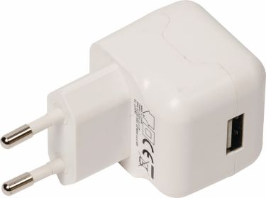 Valueline Wall Charger 1-Output 2.1 A 2.1 A USB White, VLMB11955W