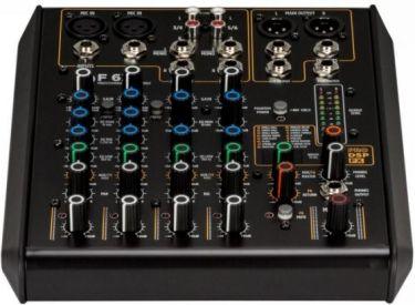 RCF mixer F 6XR 6 kanaler og DSP