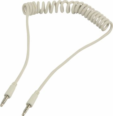 Valueline Stereo Audio Kabel 3.5 mm Han - 3.5 mm Han 1.00 m Hvid, VLMP22010W1.00