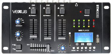 STM3030 4-Channel Mixer USB/MP3/BT/REC