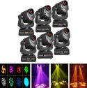 Moving Heads, BeamZ professional Ignite 60 - Pakke med 6 stk.
