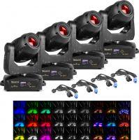 BeamZ professional IGNITE180 Spot LED Moving Head - Pakke med 4 stk.
