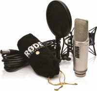 Røde NT2A mikrofonsæt m/popfilter, ophæng og kabel