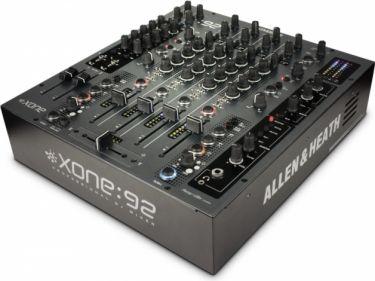 A&H Xone92 DJ / Club mixer 6 kanaler, 2 zoner