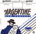 Musikinstrumenter, Savarez 1510MF Argentine HT Sæt, Ball End