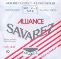 Savarez 543R Rød Alliance streng G3, pak m/10stk