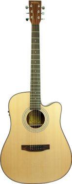 Santana LA100 Western guitar laminat m/CW & Isys Satin
