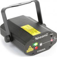 Titania Double Laser 200mW RG Gobo IRC