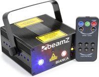 Bianca Double Laser 330mW RGB Gobo IRC