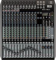 RCF E16 mixer 12 Mic + 2 stereo input, 6 AUX, m/effekt