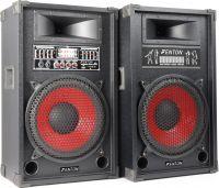 "SPA1200 PA Active Speaker Set 12"" SD/USB/MP3"