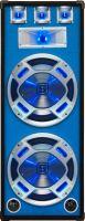 "Disco PA speaker 2x 15"" 1000W LED"