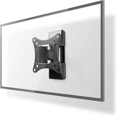Nedis TV-veggmontering med full bevegelighet | 13-27 tommer | Maks 15 kg | 1 svingpunkt, TVWM1310BK