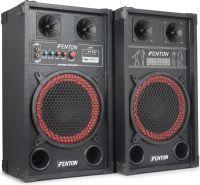 """Aktivt højttalersæt SPB-10 / 10"""" bas / 2x300W / USB/MP3-afspiller (til ungdomsværelset / hjemmebrug)"""