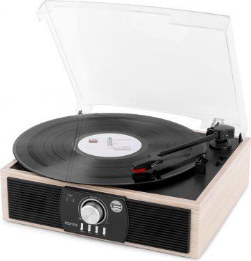 RP175LW Record Player Bluetooth Lightwood USB