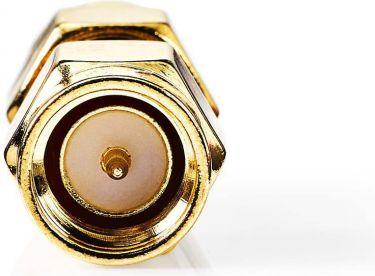 Nedis SMA Adapter   SMA Male - SMA Male   2 pieces   Gold, CSGP02941GD