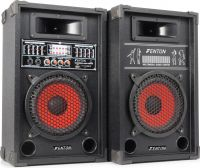 "SPA800 PA Active Speaker Set 8"" SD/USB/MP3"