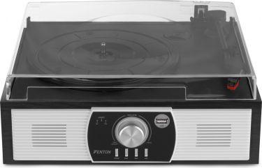 RP175B Record Player Bluetooth Blackwood USB