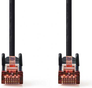Nedis Cat 6 S/FTP Network Cable | RJ45 Male - RJ45 Male | 7.5 m | Black, CCGP85221BK75