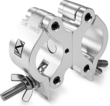 Professional Dobbelt-Clamp BC50-500D, kraftig design, godkendt til 500kg, Aluminium