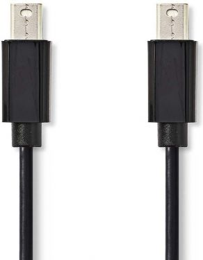 Nedis Mini DisplayPort Cable | Mini DisplayPort male - Mini DisplayPort Male | 2.0 m | Black, CCGP37