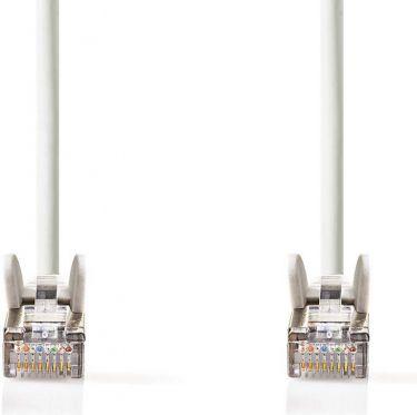 Nedis Cat. 5e SF/UTP Nettverkskabel | RJ45, hann - RJ45, hann | 3,0 mm | Hvit, CCGP85121WT30