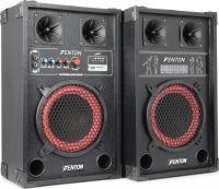 """Aktivt højttalersæt SPB-8 / 8"""" bas / 2x200W / USB/MP3-afspiller (til ungdomsværelset / hjemmebrug)"""