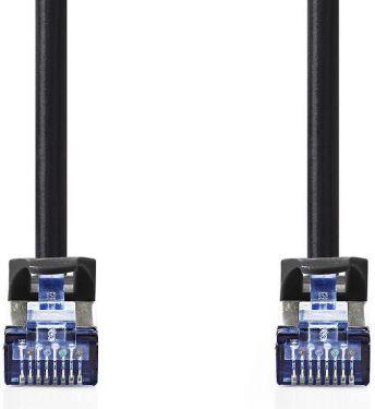Nedis Cat. 6a SF/UTP Nettverkskabel | RJ45, hann - RJ45, hann | 10 m | Sort, CCGP85320BK100