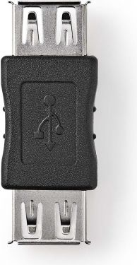 Nedis USB 2.0-adapter | A, hunn - A, hunn | Sort, CCGB60900BK
