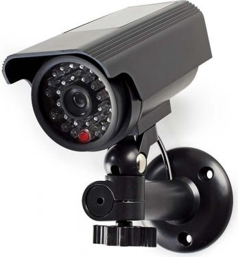 Nedis Dummy Security Camera   Bullet   IP44   Black, DUMCBS10BK