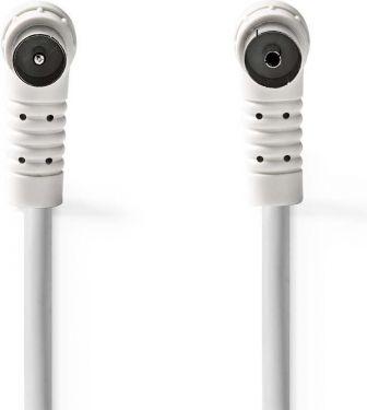 Nedis Koaksialkabel 100 dB | IEC (koaksial), hann, vinklet - IEC (Koaksial), Hunn, Vinklet | 1,5 m |