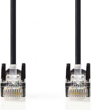 Nedis Cat. 5e UTP nettverkskabel   RJ45, hann - RJ45, hann   2,0 m   Sort, CCGP85100BK20