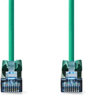 Nedis Cat 6a SF/UTP Network Cable | RJ45 Male - RJ45 Male | 2.0 m | Green, CCGP85320GN20