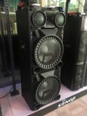 "VS212 Active Speaker 2x 12"" Bluetooth, LED 2400W"