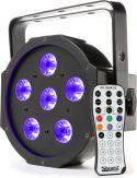 BFP130 FlatPAR 6x 6W UV LEDs