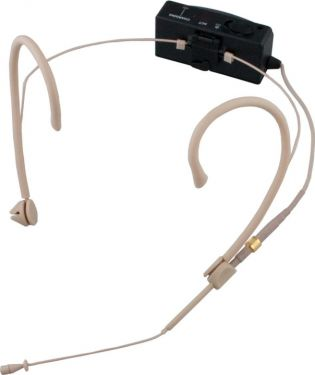 Mipro ultra miniature sender 8AD med MU23 headset mikrofon