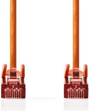 Nedis Cat 6 S/FTP Network Cable   RJ45 Male - RJ45 Male   0.15 m   Orange, CCGP85221OG015