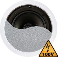 "Indbygningshøjtaler CSPT8 100V / 8 Ohm / 6.5"" 120W"